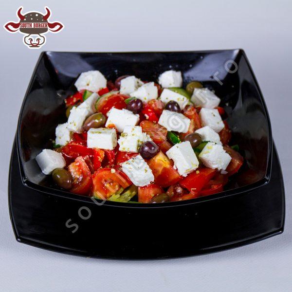 salata greceasca, south burger